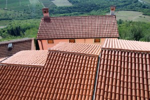 Shallow roof pitch