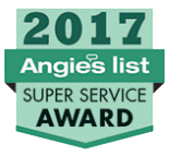 Warner Roofing Earns Angies List Super Service Award