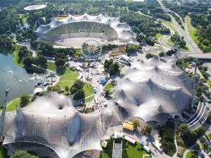 Another incredible roof design is Olympiapark - Munich, Germany
