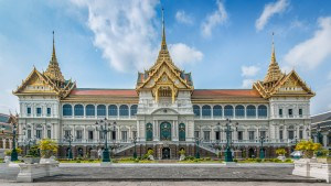 Roofing design from Thailand is Grand Palace in Bangkok