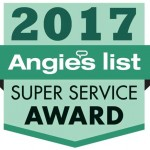 Warner Roofing Angie's List 2017 Super Service Award