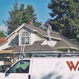 Re-Roofing project in Vancouver WA