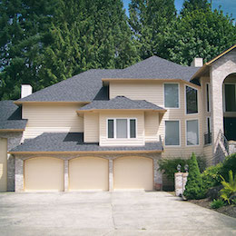 Roof repair on a home in Vancouver WA