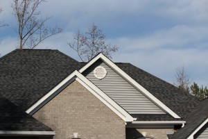 Architectural Shingles on a private home