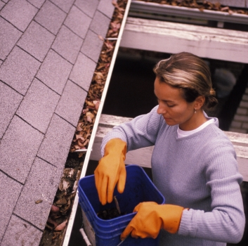 Gutter Cleaning Safety Tips You Wish Your Dad Taught You!