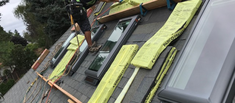 Why are roofing shingles like sandpaper?