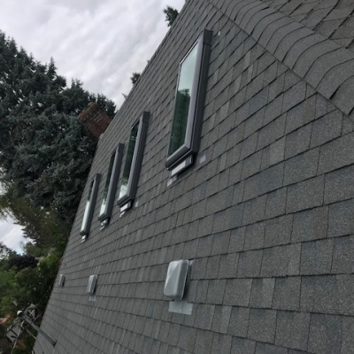 4 solar powered opening skylights with solar powered blinds 3 - Warner Roofing