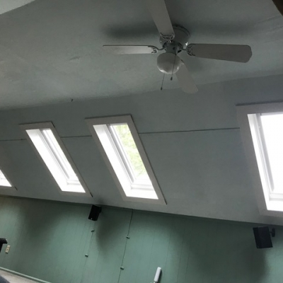 4 solar powered opening skylights with solar powered blinds 4 - Warner Roofing