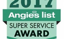 Warner Roofing Earns Fifth Angie's List Super Service Award