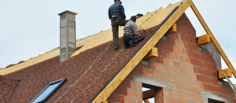 How is the roofing process carried out?