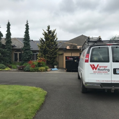 Tear off in progress in ridgefield Washington 4 - Warner Roofing
