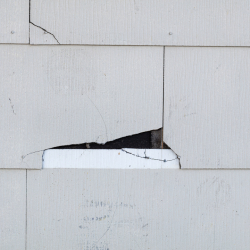 Asbestos in roofing shingles
