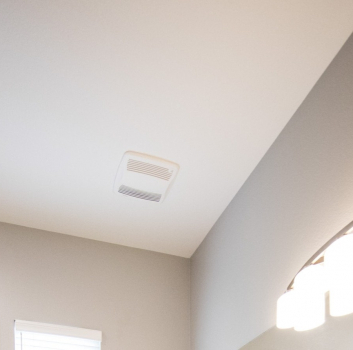 Bathroom Vent Soffit vs Roof