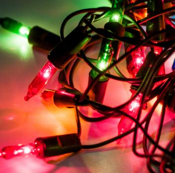 How to hang Christmas lights on roof ridge
