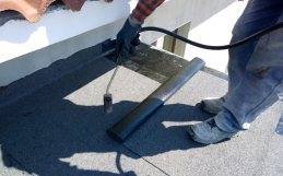The best way to change a pitched roof to a flat roof?