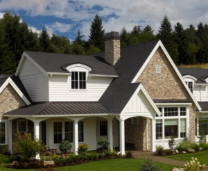 Beautiful home with CertainTeed roofing products