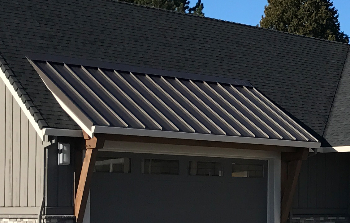 Why choose a metal roof warner roofing construction inc for How to choose roofing material
