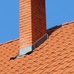 Image of damaged roof flashing