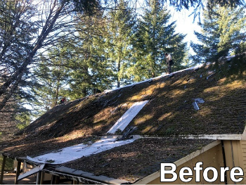 Roof Replacement in Vancouver WA before